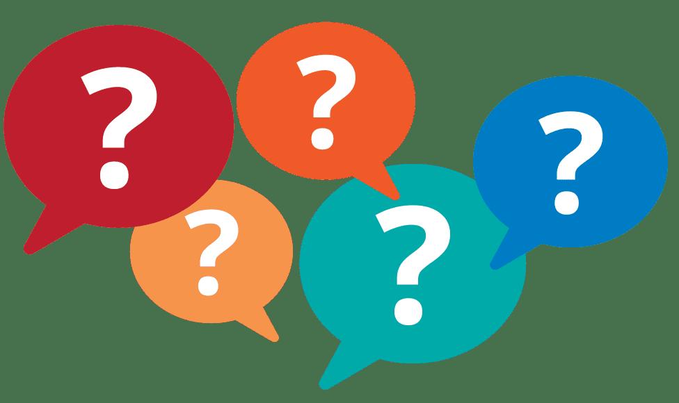 Questions dialog balloons - EWR Digital