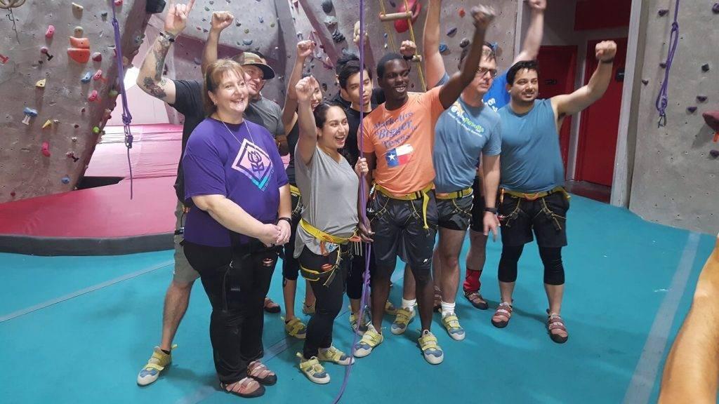 EWR Digital at Texas Rock Gym 1 - EWR Digital
