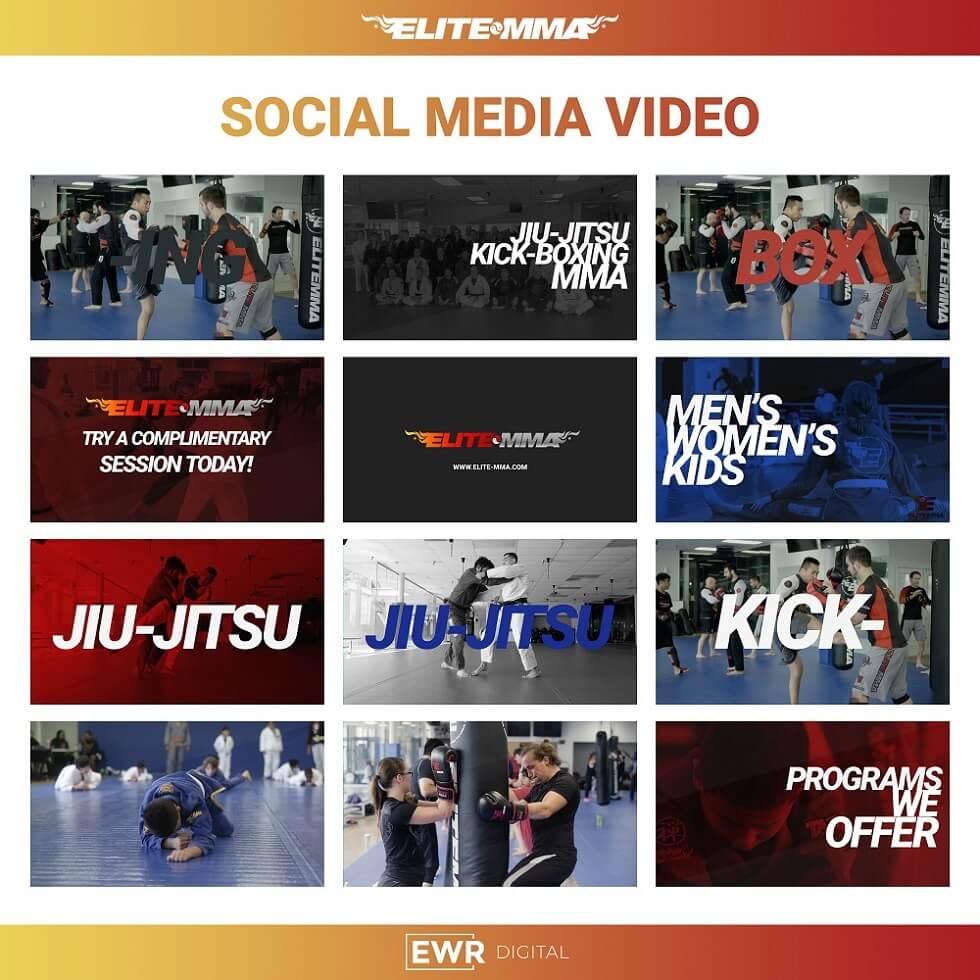 Videography Case Study - Elite MMA - EWR Digital