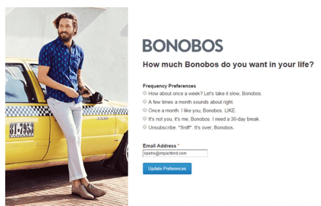 Bonobos - EWR Digital