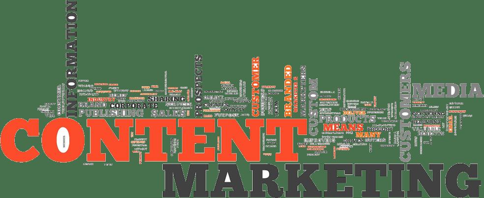 Content Marketing Word Cloud - EWR Digital