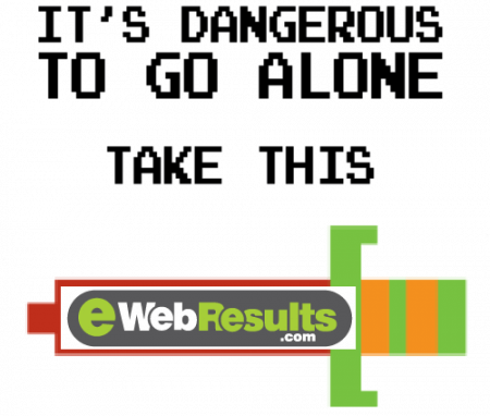 It's Dangerous To Go Alone, Take This - EWR Digital