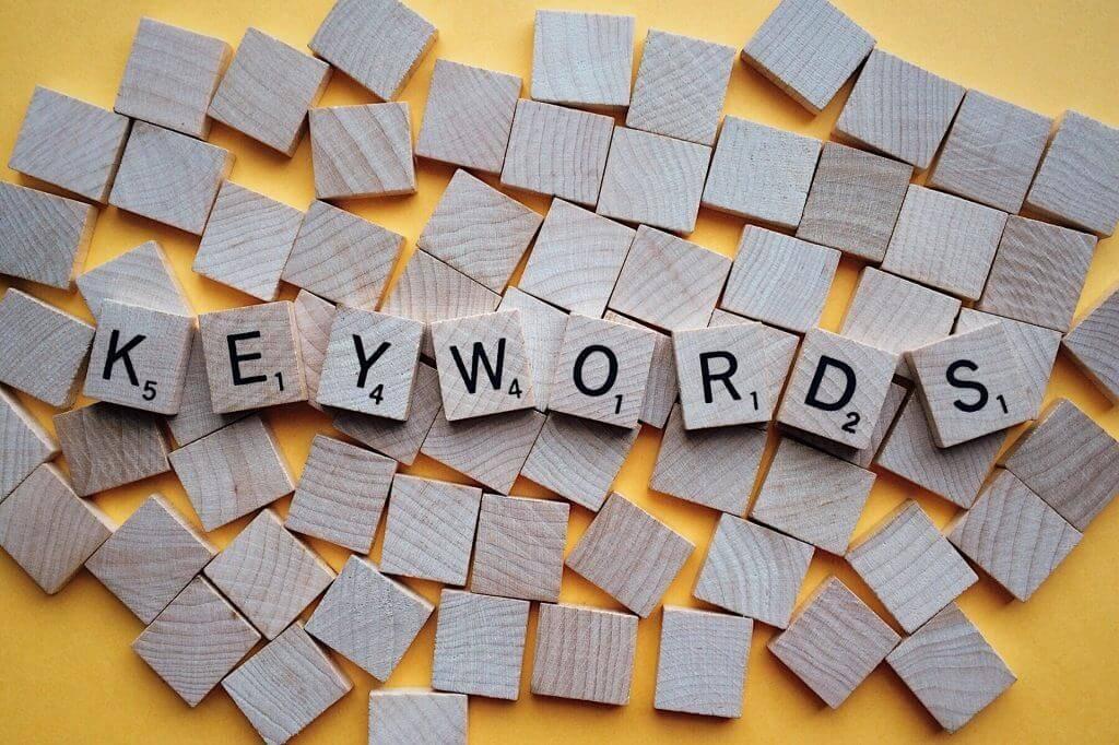 Keywords scrabble - EWR Digital