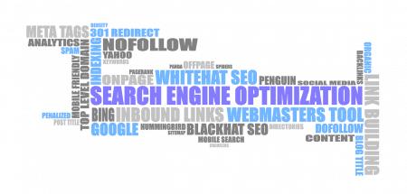 Search Engine Optimization word cloud - EWR Digital